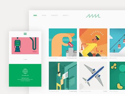New Website! website design web design dreamweaver portfolio graphic design illustration
