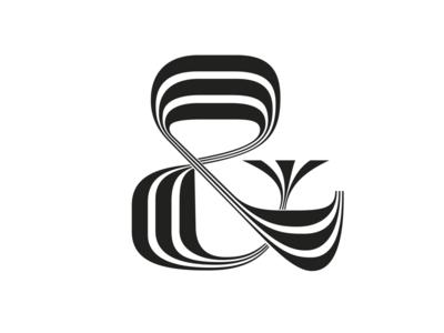 Lettering Exploration 2 ampersand type white black copperplate lettering