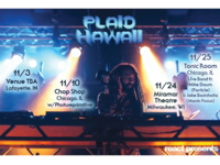 Plaid Hawaii Fall 2017 Tour (front)