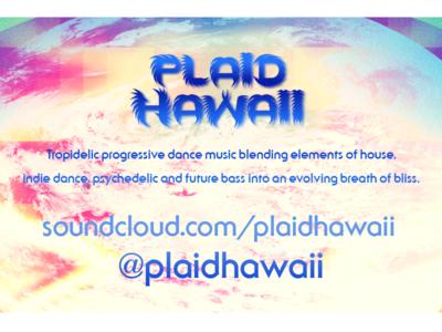 Plaid Hawaii Fall 2017 Tour (back)