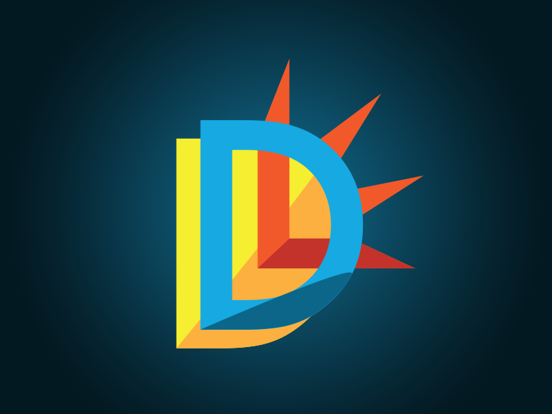DeviseLife Logo awareness cause mental health logomark sunshine sun logo illustrator design logo