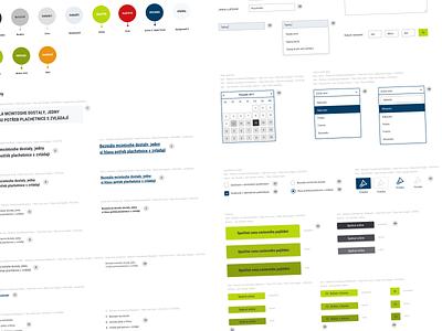 B2B app UI style guide design system b2b design interface ui design app ui