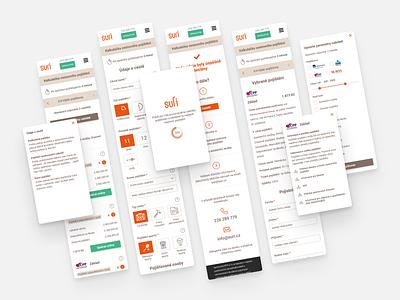 Insurance mobile app UI design user interface app design mobile app design interface ui design ui app