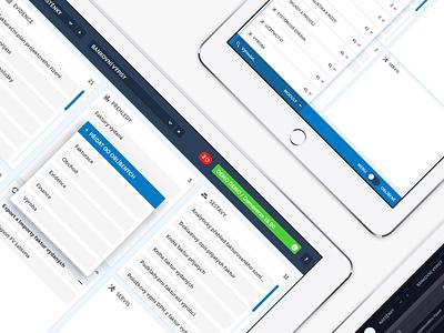 B2B CRM app UI design & elements app design mobile app interface design ui design ui app