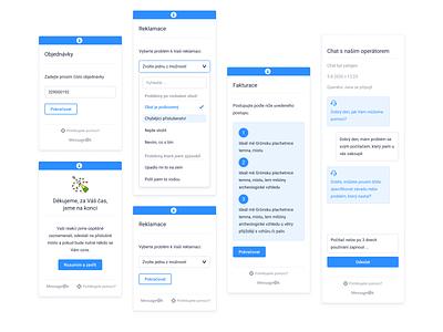 Widget UI design widget support mobile app app design design interface ui design ui app