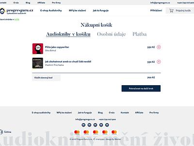 Audiobooks Store web app aplication ux ui design store eshop