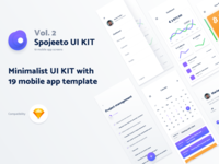 Vol. 2 - Spojeeto Mobile App UI Kit
