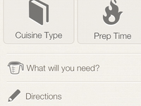 Share Recipe - WIP