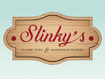 Slinky's art illustrator vector design branding logo illustration