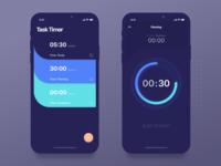 Timer App - IOS