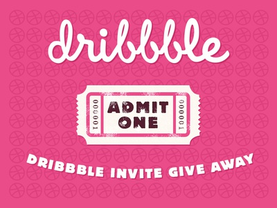 Dribbble Give Away