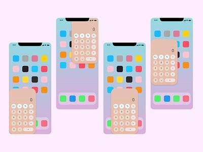 Daily UI 004 - Calculator mobile ui ios design ui design adobe xd calculator ui calculator dailyui dailyui 004