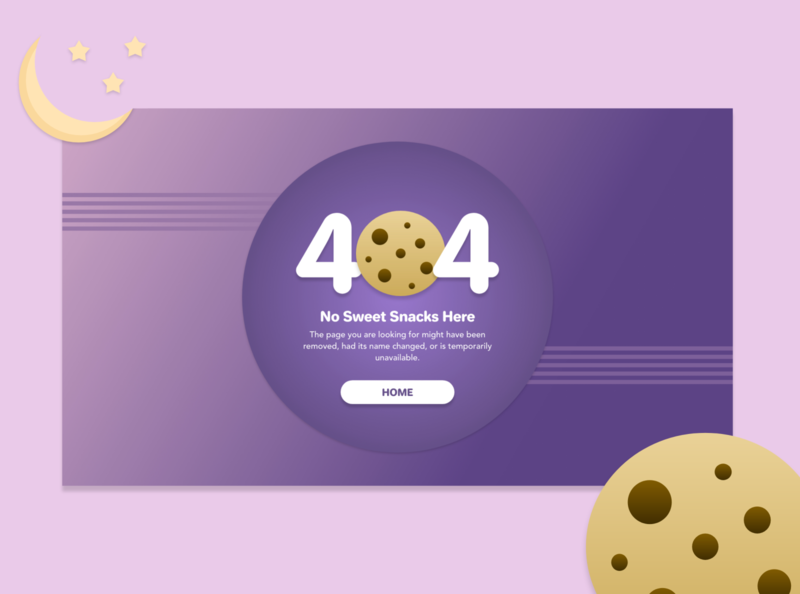 Daily UI 008 - 404 Page ui design bakery restaurant web design 404 error 404 page 404 dailyui 008 dailyui adobe xd