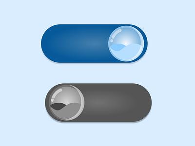 DailyUI 015 - On/Off Switch illustration button animation toggle switch button switch button switch ios design dailyui 015 dailyui ui design adobe xd
