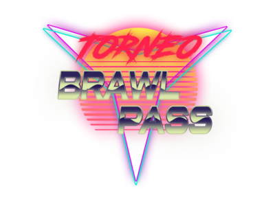 SynthWave logo Tourtament illustration logo design synthwave