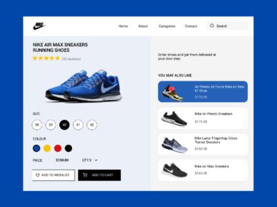 E-commerece shop(single item) DaiyUI-012 ui uiux dailyui e-commerce figma