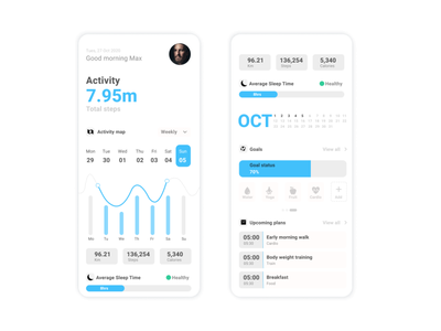 Workout Tracker        DailyUI 41 branding fitness workout tracker 41 design interface uiux uiuxdesign uidesign ui figma dailyui