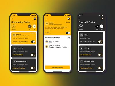 Mysify design uiux mobile app smart home app