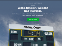 Sport Ngin.com: 404 Page