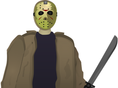 Jason Voorhees design horror movie horror vector abstract