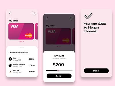 Finance App app designer mobile design design uxdesign ux uiuxdesigner uiux uidesign ui