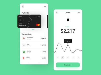 Personal Finance App app designer app design uxdesign ux uiuxdesigner uiux uidesign ui