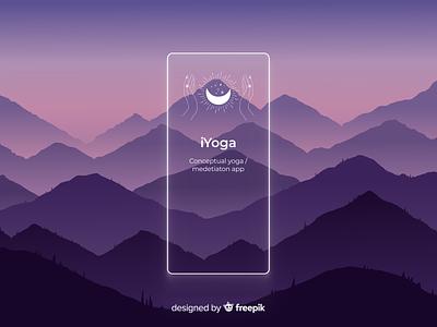 Yoga app case study design uxdesign ux uiuxdesigner uiux uidesign ui