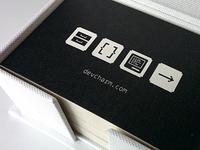 Devcharm Business Cards