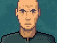 Pixel Portrait Sketch