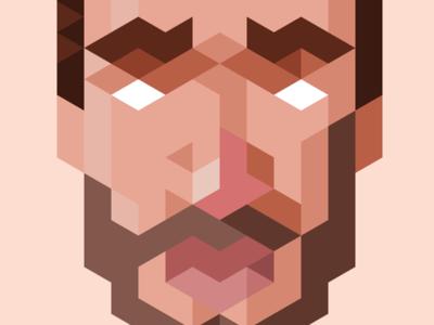 Trixel Self-Portrait