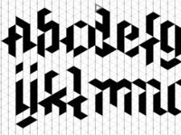 Trixel-Font