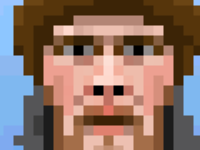 Pixel Portrait of @helloanselm