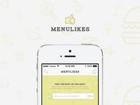 Menulikes Mobile App Detail