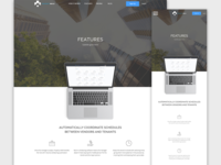 Property Management App Marketing Landing Page