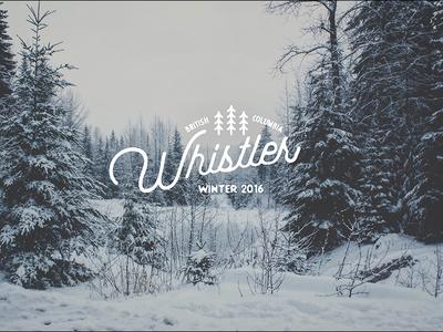 Whistler Winter 2016 Trip