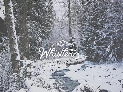 Whistler 2016 Winter