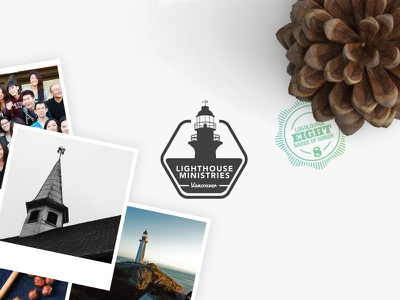 Lighthouse Ministries Brand Identity architecture canada vancouver church lighthouse brand identity logo