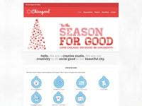 Chicagood X-Mas website theme