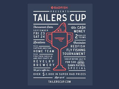 Badfish Tailers Cup tournament charleston redfish fly fishing fishing