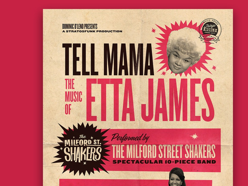 Tell Mama Poster soul music poster vintage retro