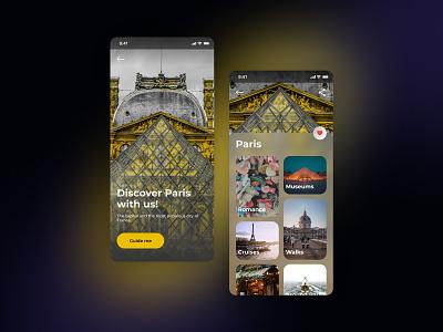 Travel Guide App design app design app ui ux mobile ui app ui design mobile app mobile ui app ui app