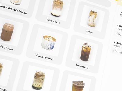 Order Summary - iPad POS ui design user interface mobile user interface