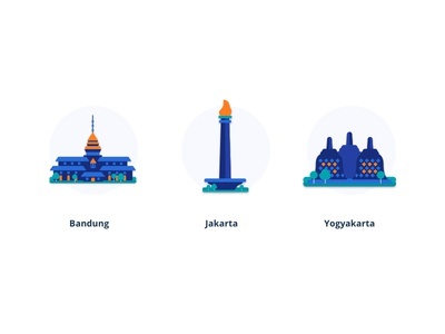 Indonesia Landmark