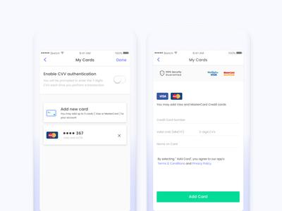 MyCard Screen