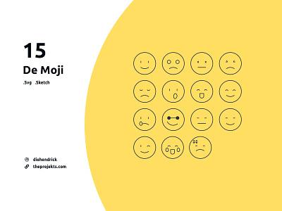 Free De Moji icons emoji icon free free icons free icon an emoji emoji outline emoji