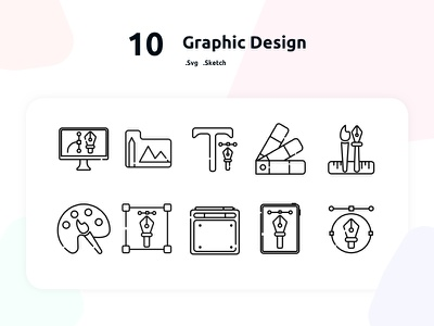 Free Graphic Design Icons graphic design icon freebie icons outline icon set free icons set free icons