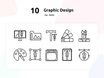 Free Graphic Design Icons