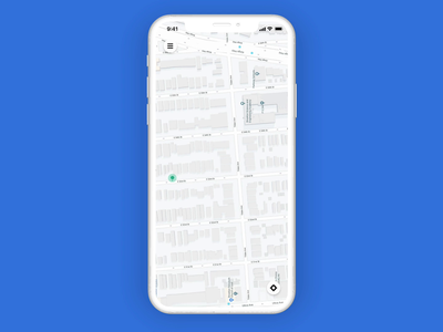User Booking - Driver Pickup Interaction user interface user experience taxi booking app booking taxi pickup interaction pickup passanger driver pickup booking cab