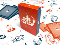 Sumo Wrestlers Playing Cards