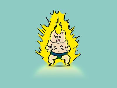 sumo wrestler 25 awakening sumowrestler wrestler human sumo man illustration